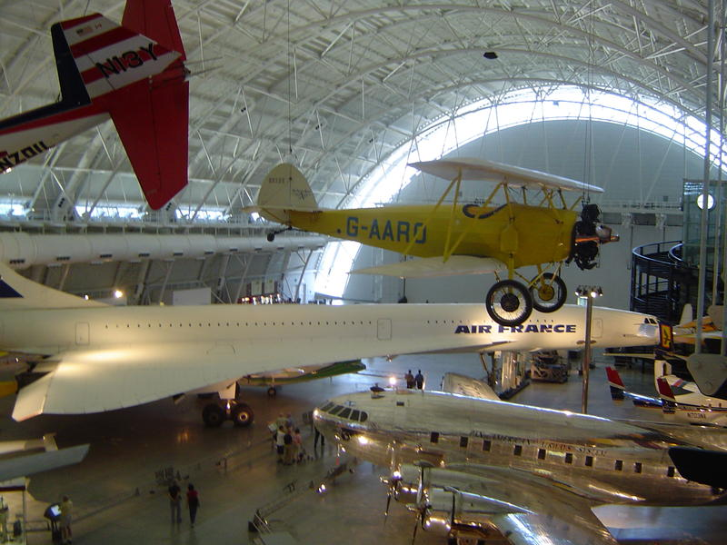 Aifcraft museum, Steven F. Udvar-Hazy Center, part of the Smithsonian National Air and Space Museum, Chantilly, Virginia