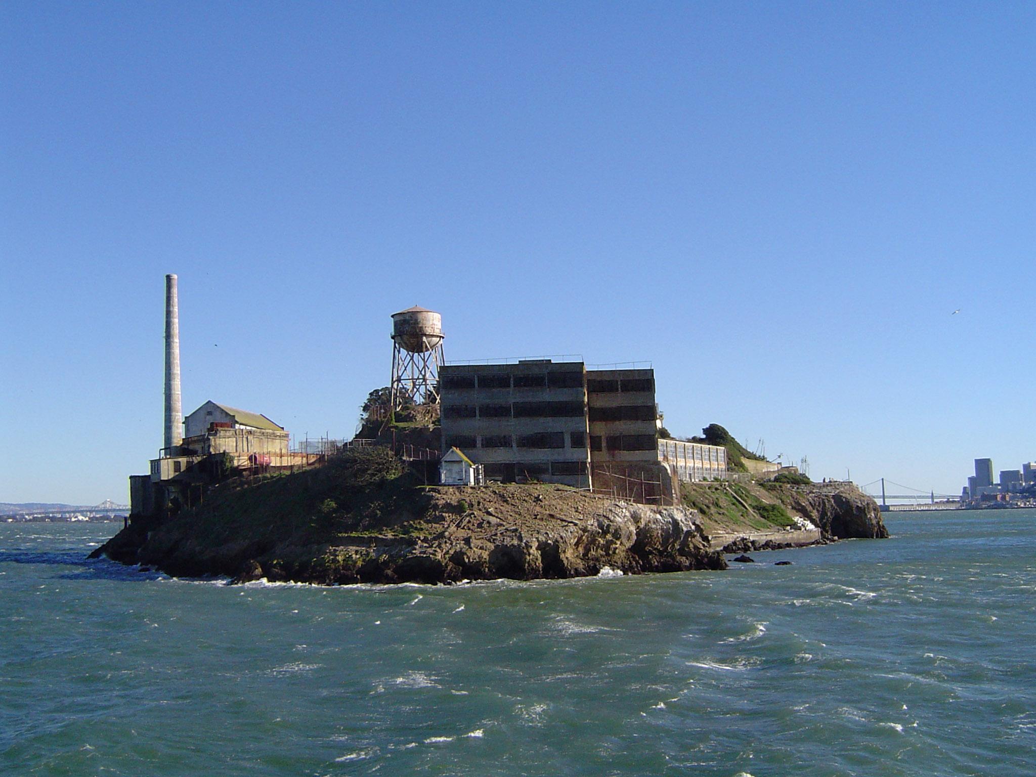 free stock photo 952-alcatraz_island_01959 | freeimageslive