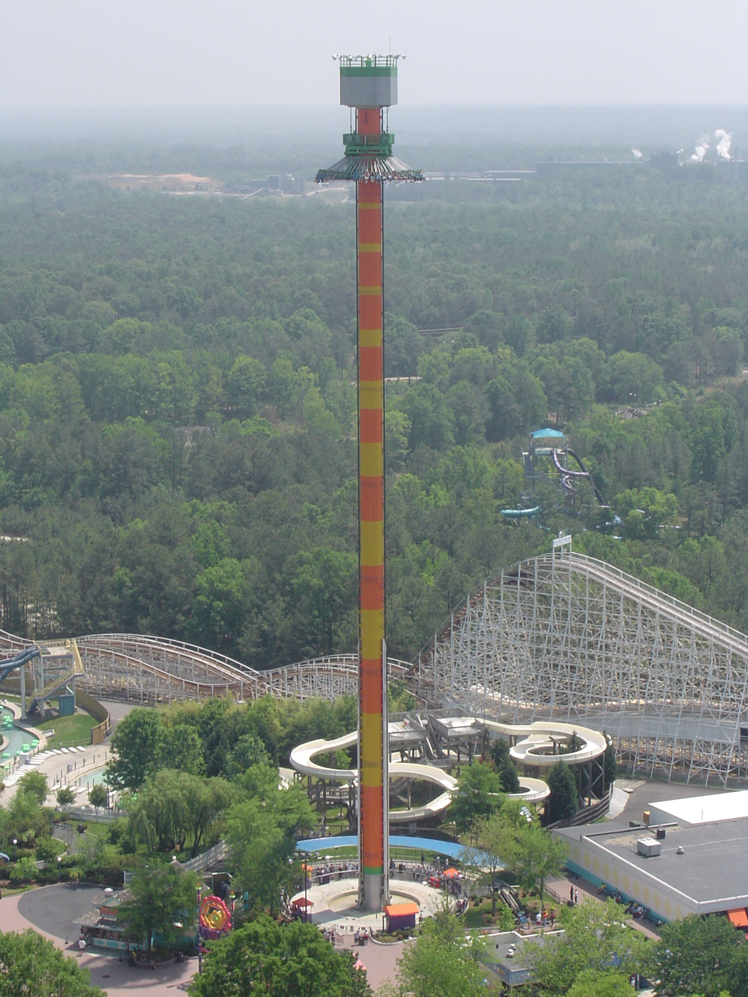 Free stock photo 752 drop tower 432 jpg freeimageslive