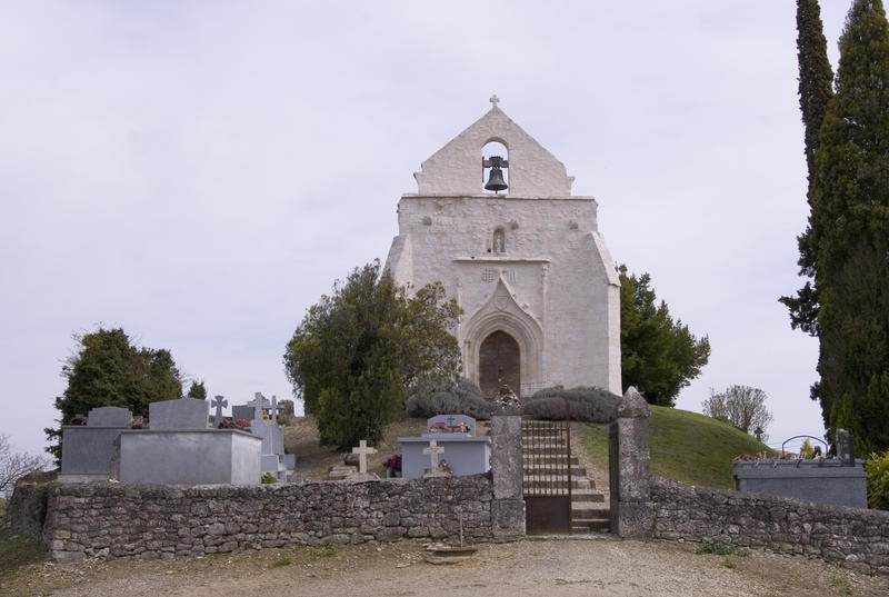 a small french chaple in rural france