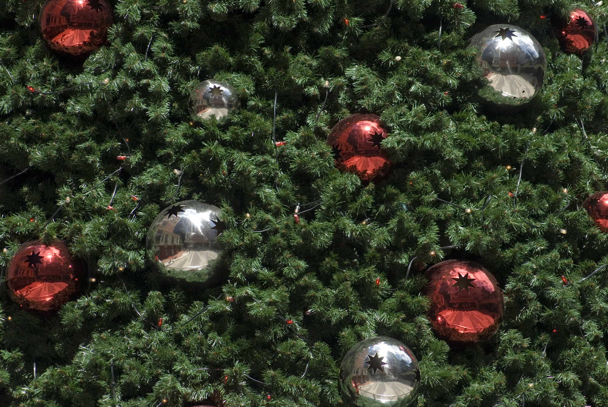 Free Stock Photo 1448-Christmas Baubles