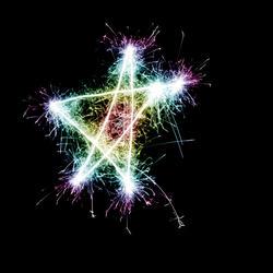 1451-Sparking Star Rainbow