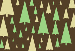 1531-graphic christmas trees