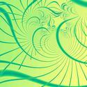 1652-abstract green fractal