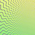 1613-green opart waves