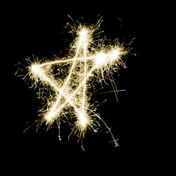 1455-Sparking Gold Star