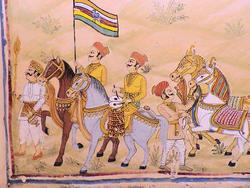 1906-India_Rajasthan_Fort_Chanwa_mural_03.jpg