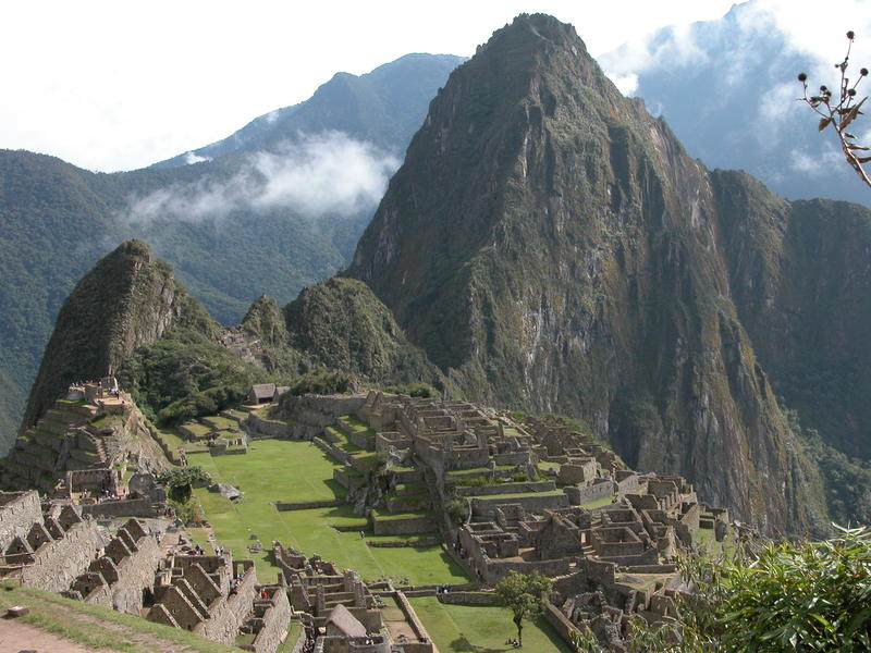 <p>Ruins of the Inca city at Machu Picchu in Peru</p>