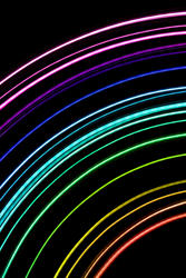 1829-light trail rainbow