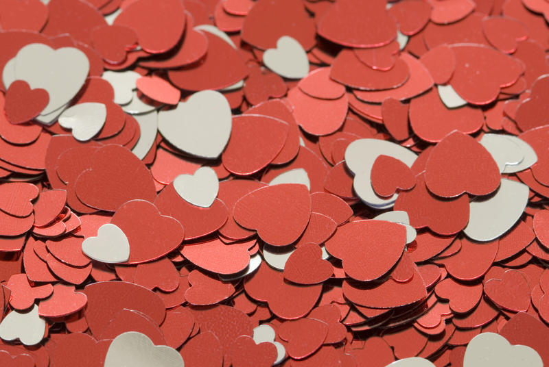 "<p>More <a href=""http://www.freeimages.co.uk/jumpto/valentine.htm"">free valentine stock images</a></p>a conceptual valentine background of heart-shaped confetti pieces"