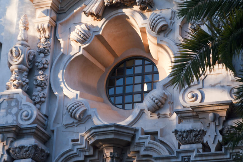 2605-Spanish Colonial Revival Window