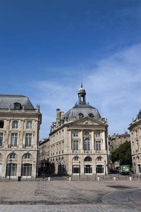 Place de la Bourse, the fine architecture of central bordeaux was listed as a world heritage site in 2007 as an outstanding urban and architectural ensemble