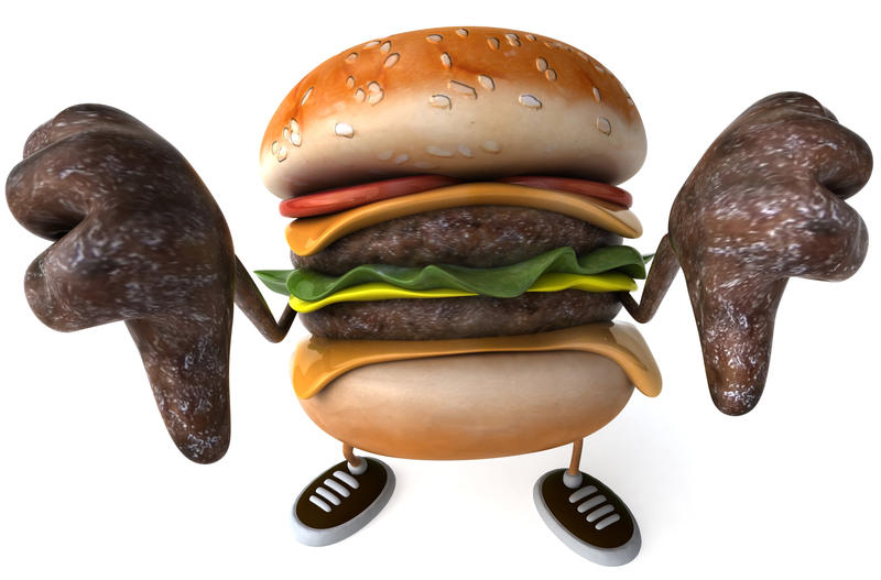 <p>Fun hamburger !</p>