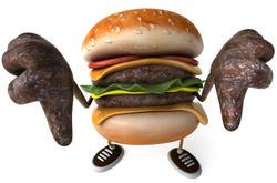 2892-Fun hamburger