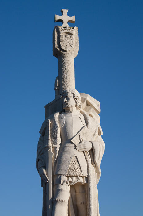 The cabrillo national monument, a statue of Juan Rodriguez Cabrillo at Point Loma, San Diego