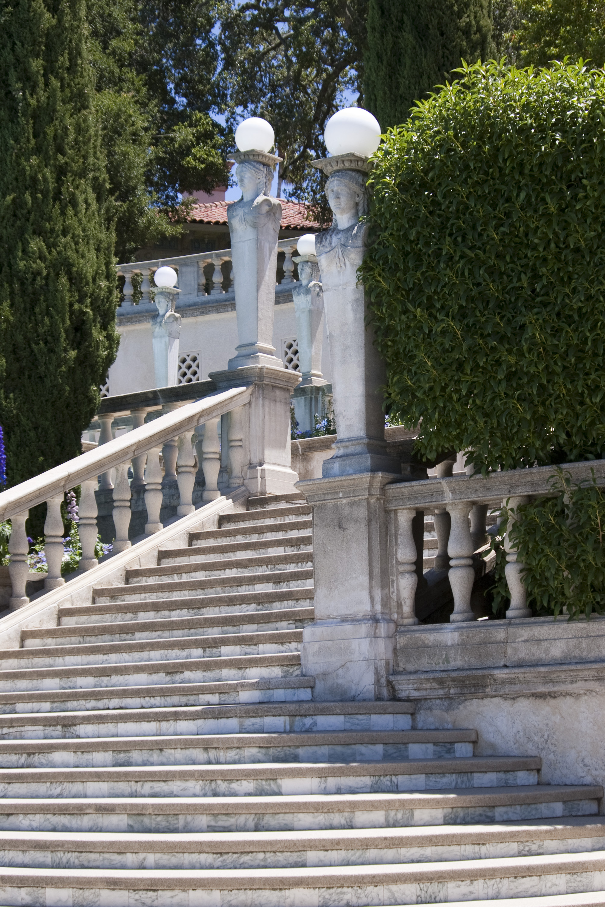 Free Stock Photo 2543 Hearst Castle Steps Freeimageslive