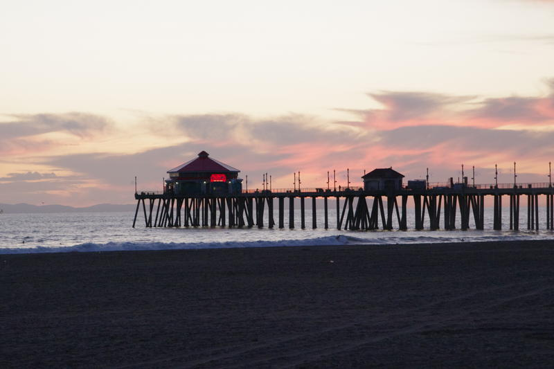 2624-huntington beach sunset