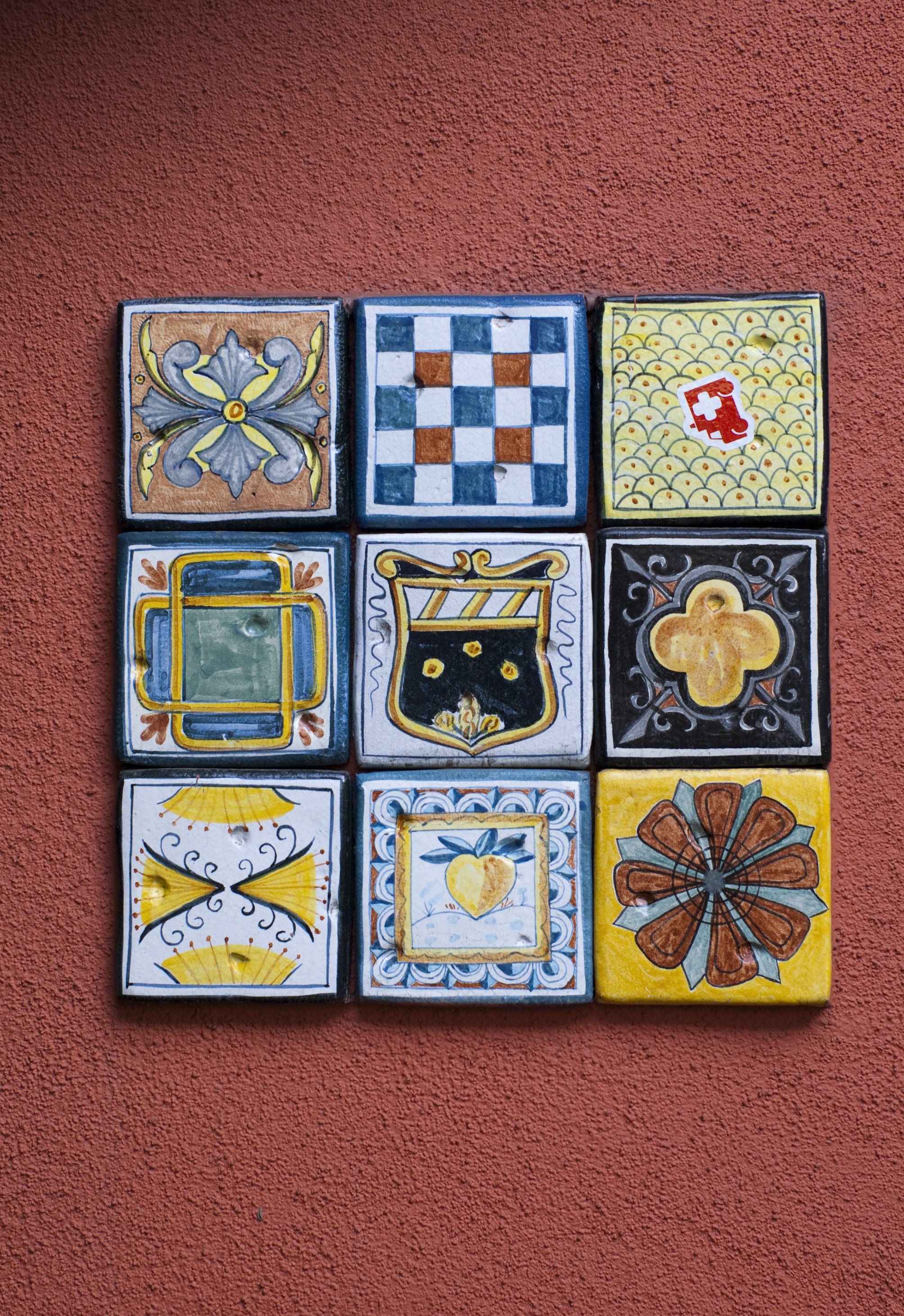 Mexican Wall Tiles : Free stock photo mexican tiles freeimageslive
