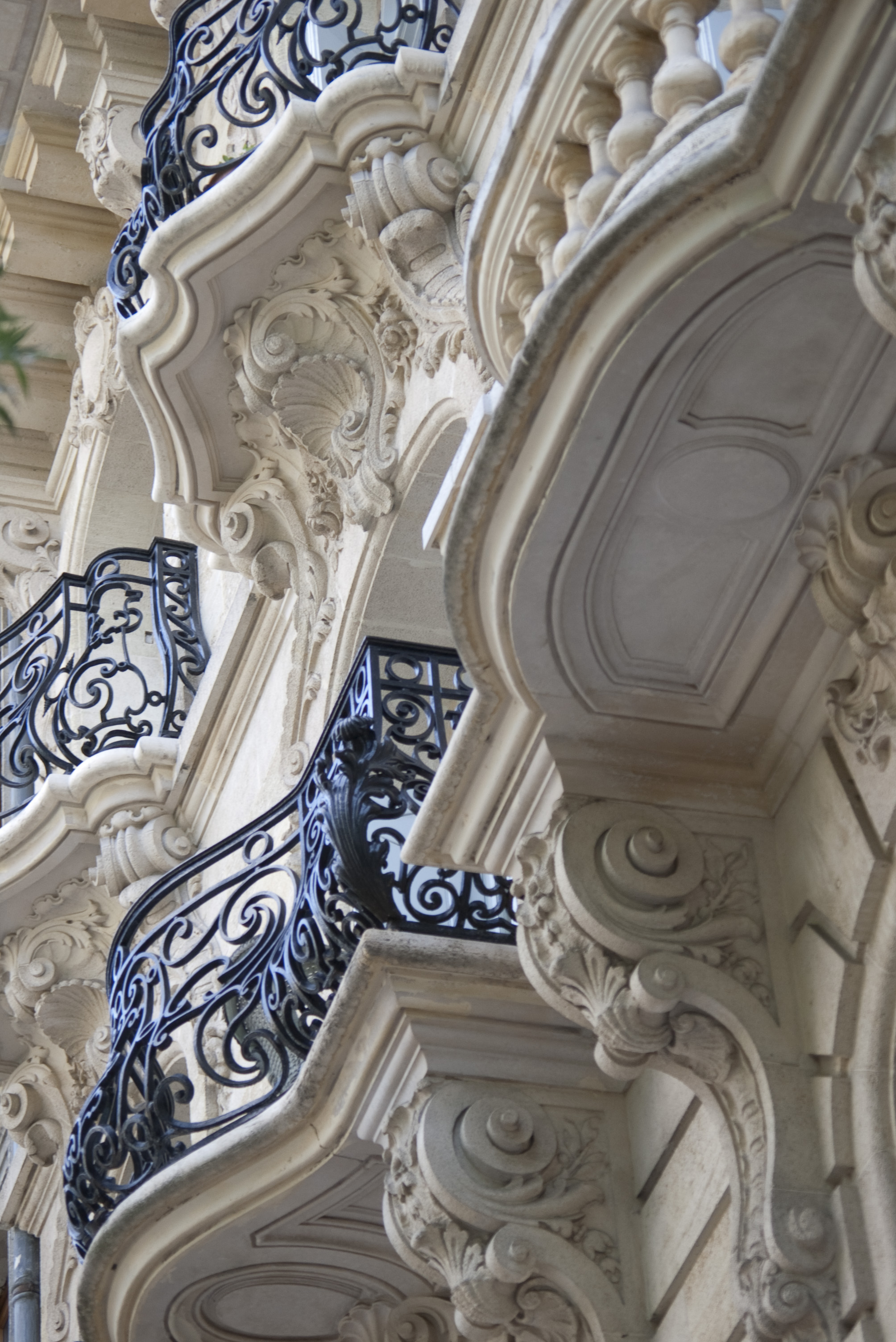 Free stock photo 2788 ornate cast iron balconies for What is a french balcony