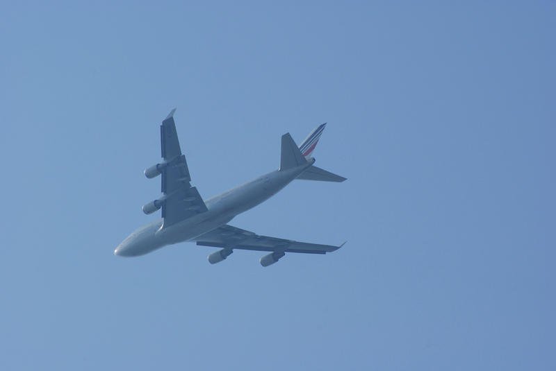<p>Jet In Flight</p>Large jet in flight