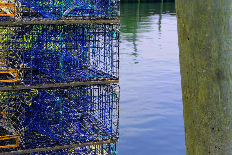 <p>Lobster Traps</p>Lobster Traps on the pier