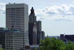 3769-Providence Rhode Island Skyscraper
