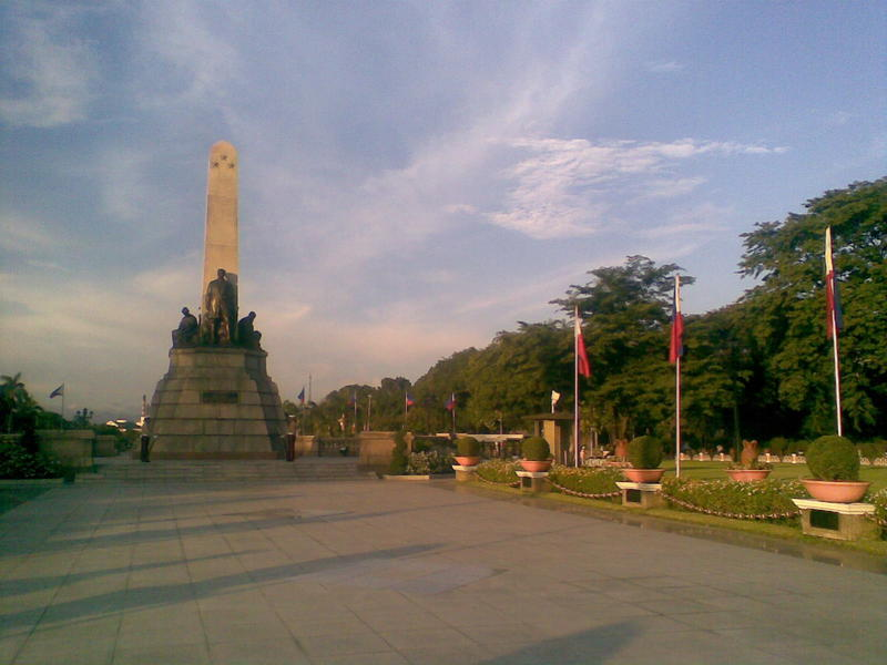 <p>&nbsp;Jose Rizal's Monument</p>