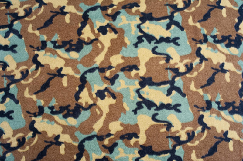 green and brown camouflage pattern background