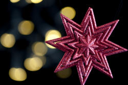 3603-christmas star lights