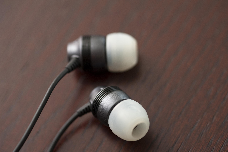 Plug Stock News >> Free Stock Photo 4000-earplug headphone | freeimageslive