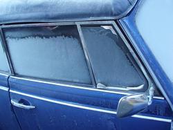 3467-frozen car