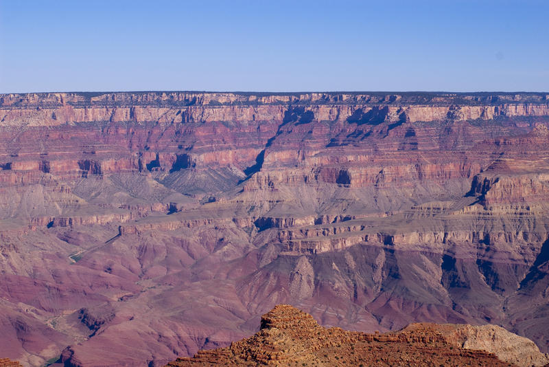 spectacular sweeping panorama of the grand canyons geological majesty