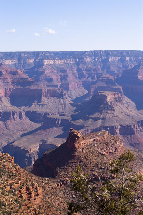 spectacular view from the south rim of the grand canyon
