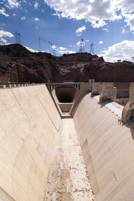 Usa News Live >> Free Stock Photo 3184-hoover dam spillway | freeimageslive