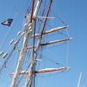 4134-square rig mast