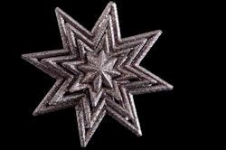 3637-pink christmas star