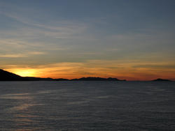 3391-sunset ocean panorama