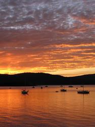 3393-sunset reflections