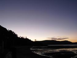 3394-sunset silhouette