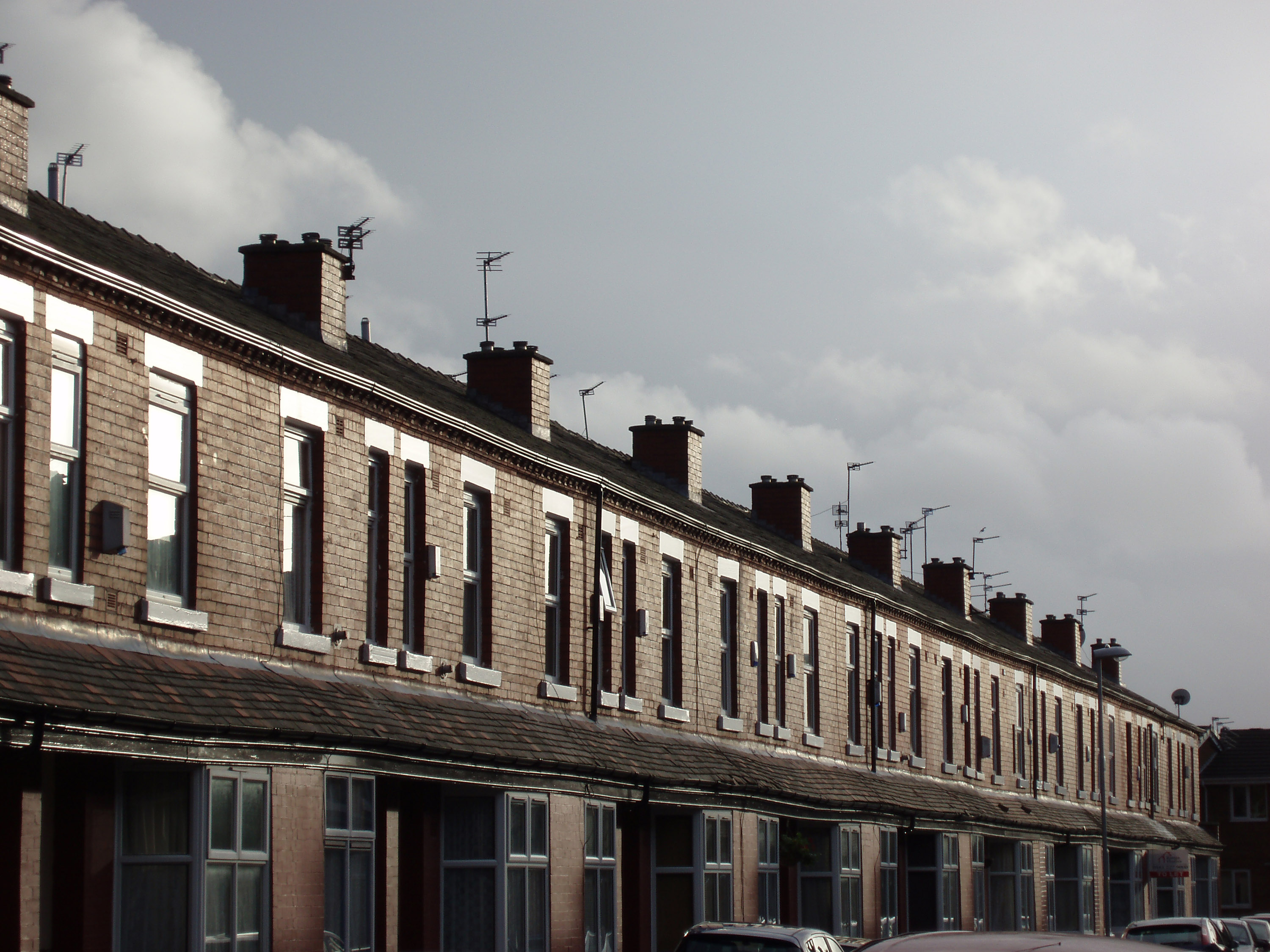 stock photo  terraced street freeimageslive