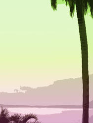 4389   tropical background