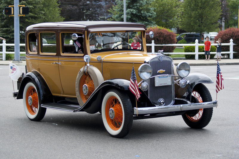 <p>An Antique Car 5</p>Antique Car in Parade