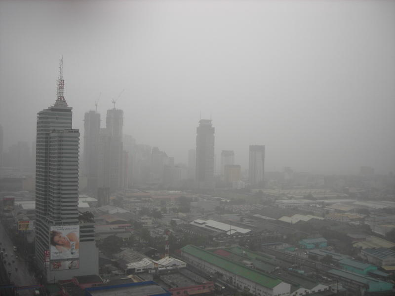 <p>&nbsp;Rainy day in Manila</p>