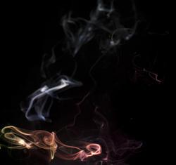 4740   hanging smoke vapour