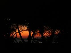 4448   maldives sunset silhouette