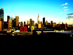 4887   manhattan skyline