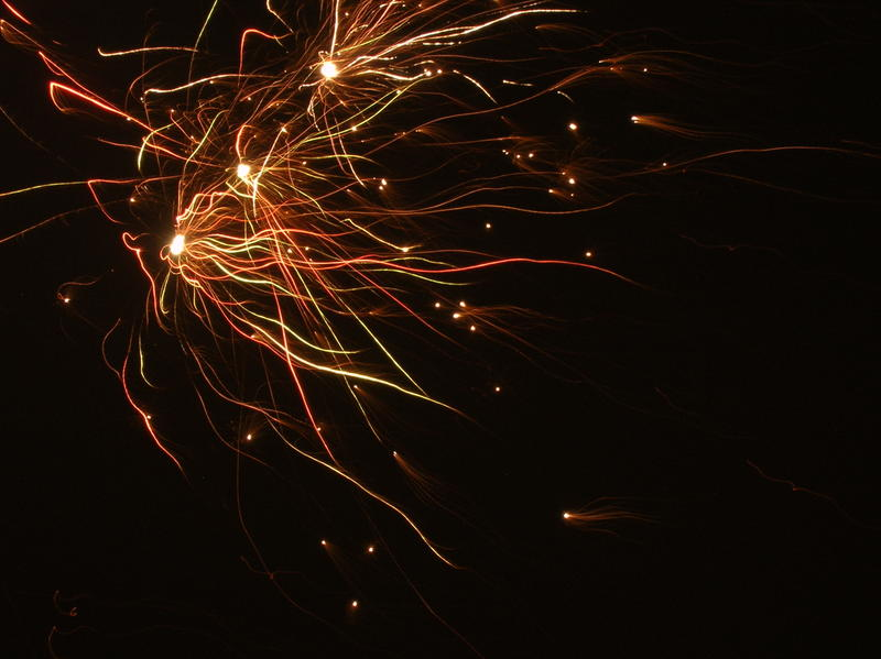 <p>bonfire night firework lights</p>