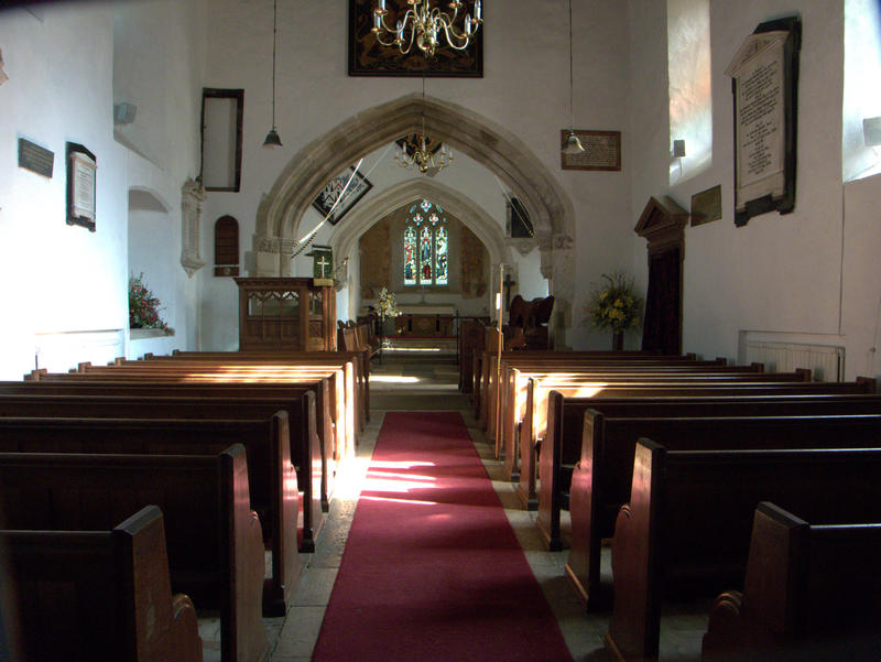 <p>Saxon Church Nave</p>