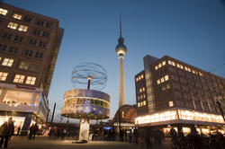 7064   Alexanderplatz, Berlin, at night