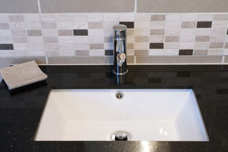 Free Stock Photo 6920 Square Bathroom Sink Freeimageslive